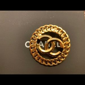 Signature Gold Brooch repurposing by Chanel